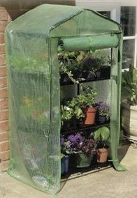 2ft 3in x 1ft 7in 3 Tier Growhouse with Reinforced Cover