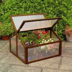 2ft 11in x 2ft 7in Large Wooden Cold Frame