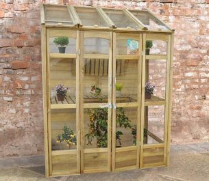 Victorian Lean-to Greenhouse by Forest Garden®