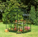 Halls Supreme Aluminium Frame Greenhouse 6ft x 4ft Green