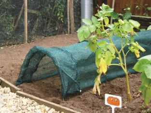 Pull Out Net Grow Tunnel