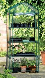 2ft 3in x 1ft 7in 4 Tier - Compact Greenhouse