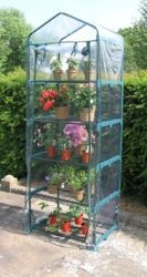 2ft 3in x 1ft 7in Compact Greenhouse - 5 Tier