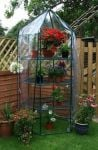 2ft 10in x 2ft 10in Large Hexagonal Display Greenhouse
