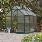Rowlinson Aluminium Frame Greenhouse 6ft x 8ft