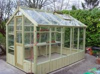 Swallow Kingfisher 6ft 8in x 10ft 5in Wooden Greenhouse
