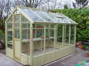 Swallow Kingfisher 6ft 8in x 14ft 8in Wooden Greenhouse