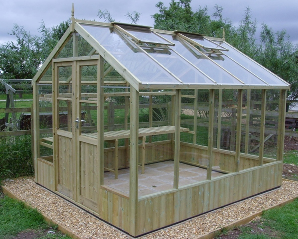 Swallow Raven 8ft 9in x 10ft 5in Wooden Greenhouse