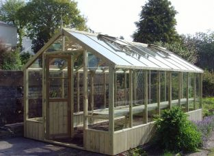 Swallow Raven  8ft 9in x 18ft 10in Wooden Greenhouse