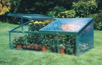 2ft x 2ft 11in Cold Frame with Double Lid