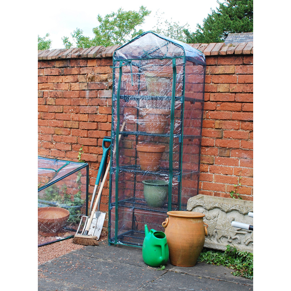 2ft 3in x 1ft 7in 5 Tier Greenhouse