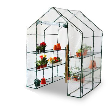 Lacewing™ 4ft8 x 4ft8 Walk-In Wide Growhouse