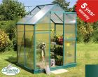 Lacewing™ 6ft x 4ft Traditional Green Aluminium Frame Greenhouse