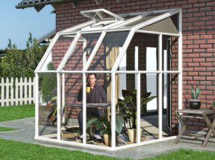 Palram Rion Sun Room Greenhouse 6ft x 6ft