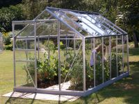 Venus 7500 Anodised Aluminium Greenhouse 6ft x 12ft