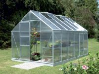 Neptune 8300 Anodised Silver Greenhouse 8ft x 10ft