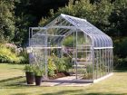 Saturn 9900 Anodised Silver Greenhouse 8ft x 12ft