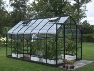 Saturn 11500 Green Aluminium Greenhouse 8ft x 14ft