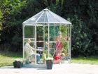 Hera 4500 Anodised Silver Greenhouse 8ft x 7ft