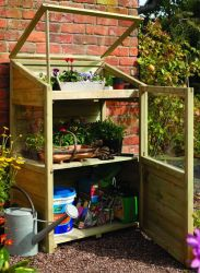 Wooden 4ft x 2ft Mini Greenhouse