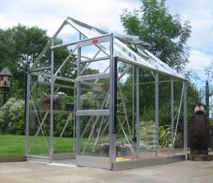 Elite High Eave 6ft x 12ft Greenhouse