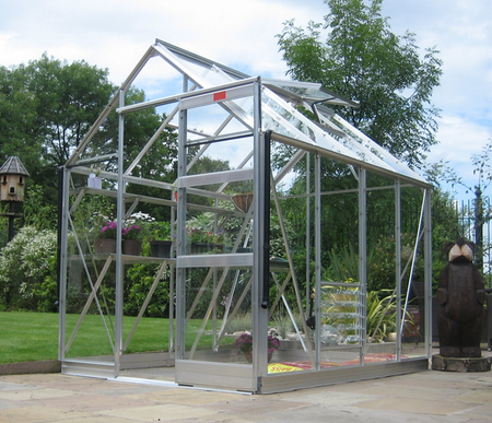 Elite High Eave 6ft x 16ft Greenhouse