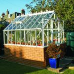Elite Thyme Dwarf Wall Double Door 6ft x 4ft Greenhouse