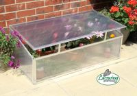Lacewing™ 3ft 6in x 1ft 10in Deluxe Aluminium Cold Frame