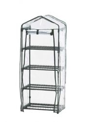 Compact 4 Tier Greenhouse - 5ft x 1ft 11in