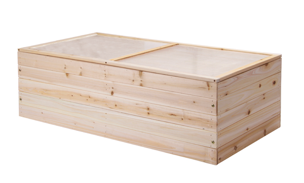 Lacewing� 4ft x 2ft Wooden Cold Frame