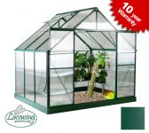 Lacewing™ 8ft x 6ft Deluxe Aluminium Frame Double Door Greenhouse