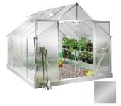 Lacewing� 8ft x 10ft Deluxe Aluminium Frame Double Door Greenhouse