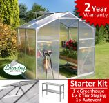 Lacewing� 6ft x 4ft Essential Greenhouse Starter Kit