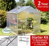 Lacewing� 6ft x 6ft Essential Greenhouse Starter Kit