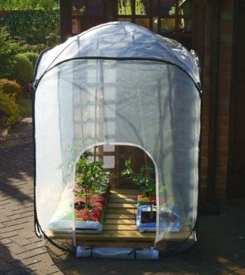 Pop Up Polyhouse 1m wide
