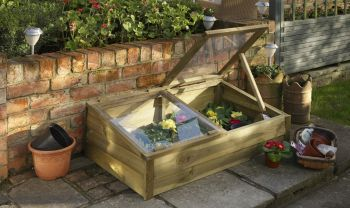 Large Overlap Cold Frame