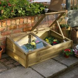 W1.09m (3ft 7in) Large Overlap Cold Frame FSC