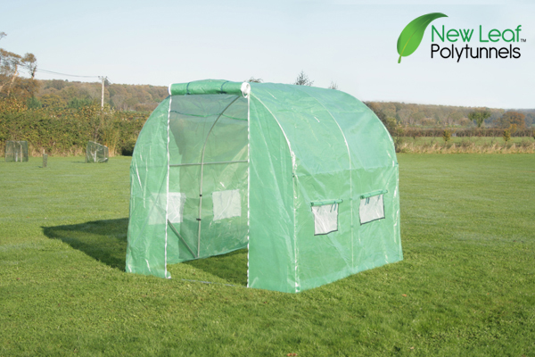 2.5m x 2m (8ft 2in x 6ft 7in) Polytunnel Galvanised Frame by New Leaf™