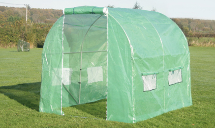 New Leaf Polytunnel 2.5m x 2m (8ft 2in x 6ft 7in)
