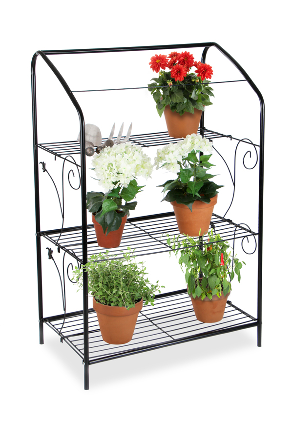 Lacewing 3 Tier Mini Greenhouse Plant Stand With
