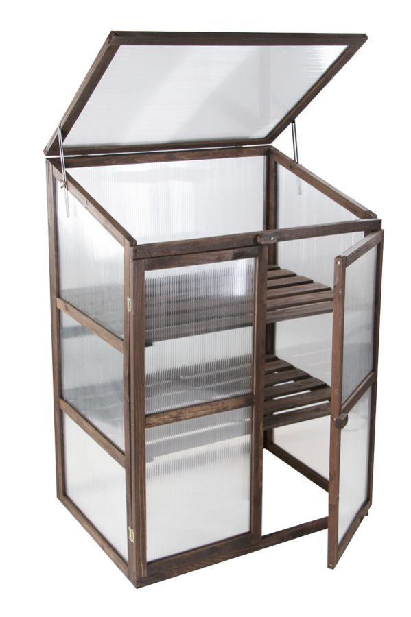 Lacewing™ 2ft6 x 1ft10 Double Door Wooden Cold Frame Growhouse £64.99