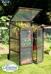 Lacewing� 2ft6 x 1ft10 Double Door Wooden Cold Frame Growhouse