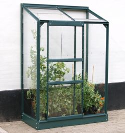 2ft x 4ft Ida 900 Lean-To Greenhouse - Green