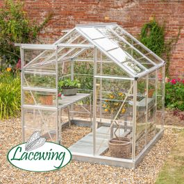 Lacewing™ 6Ft x6Ft Cristal Polycarbonate Greenhouse