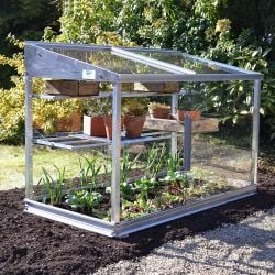 4ft Aluminium Mini Half 3-tier Growhouse