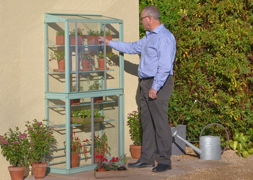 "Westminster 3'4"" Greenhouse with Shelves"
