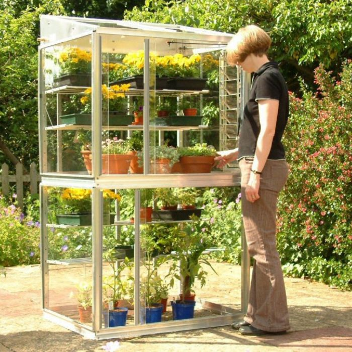"Exbury 3'4"" Classic Growhouse with Shelves"