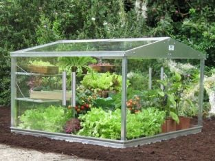 4ft x 4ft Classic Cold Frame with Shelves