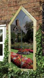 3ft 11in x 1ft 11in Renaissance Garden Mirror
