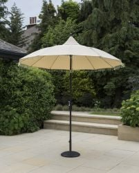 Norfolk Leisure 2.7m Carrousel Parasol in Cream